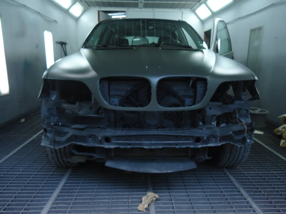 BMW X5 Navi Green