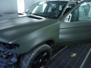 BMW X5 Navi Green