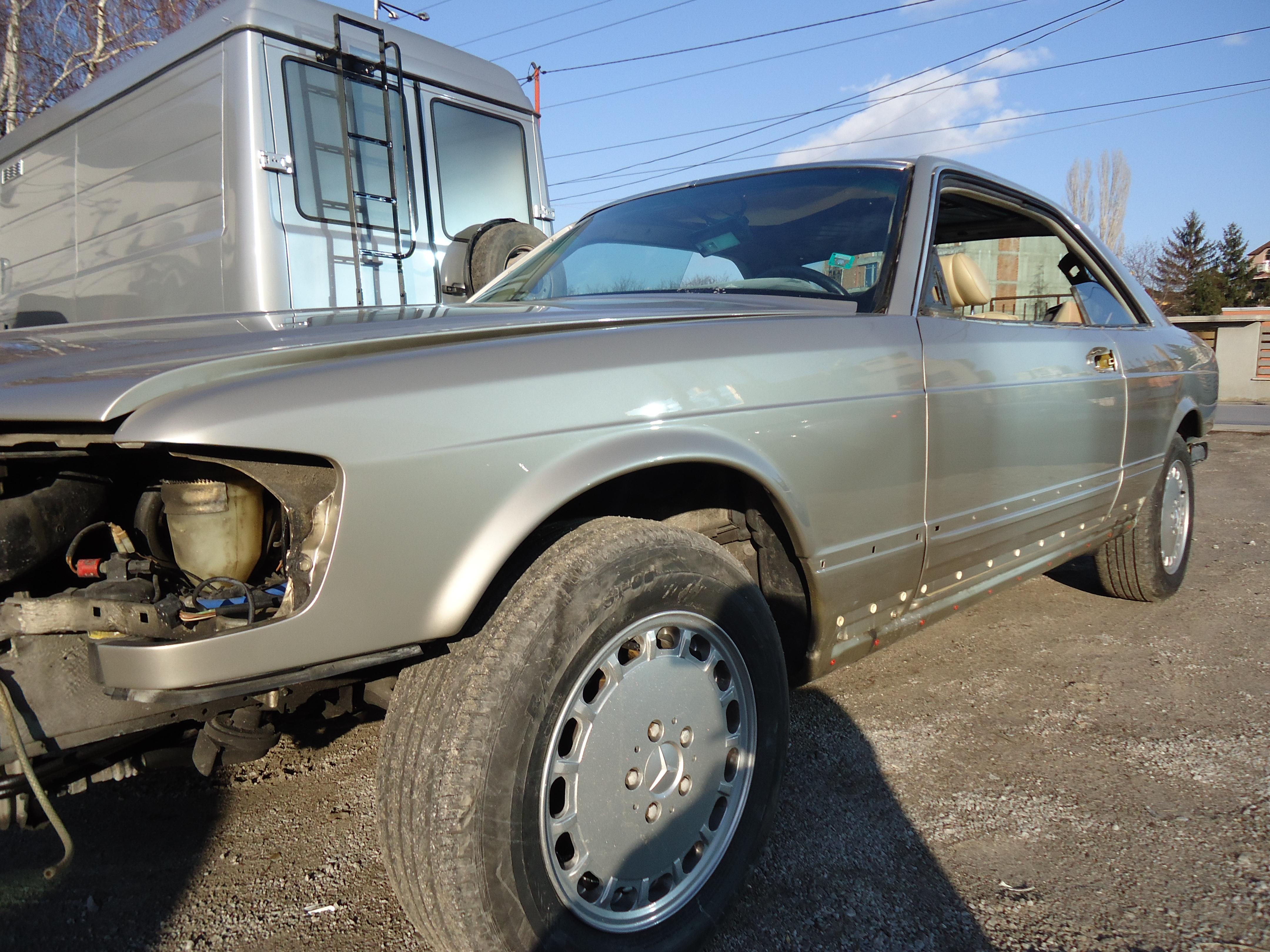 Mercedes 560 SEC